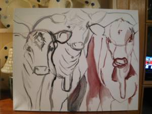 canvas-sketch-cow